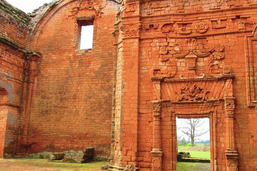 ruinas de santisima trinidad paraguay