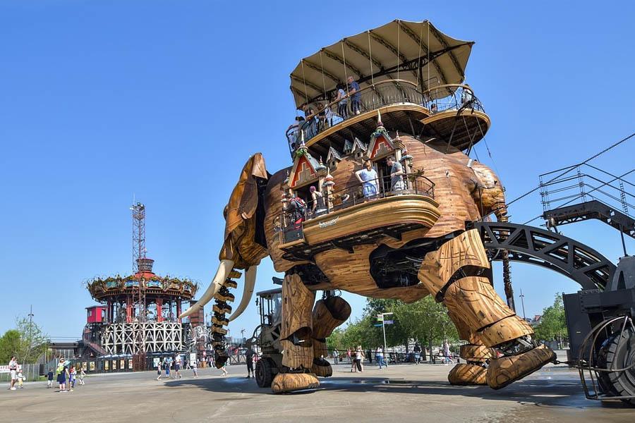 Maquinas de la Isla, Nantes