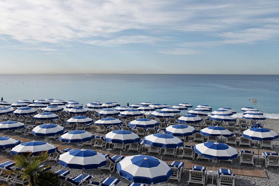 Playas de Niza, Francia
