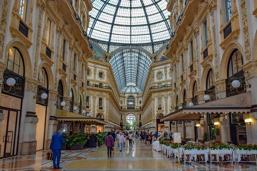 Galeria de Victor Manuel II Milan