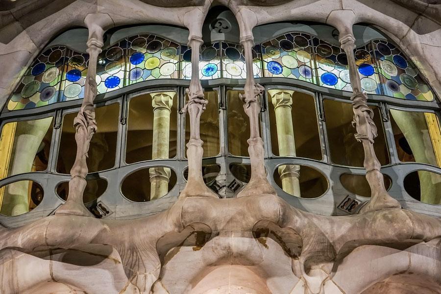 Obras Gaudi, Barcelona