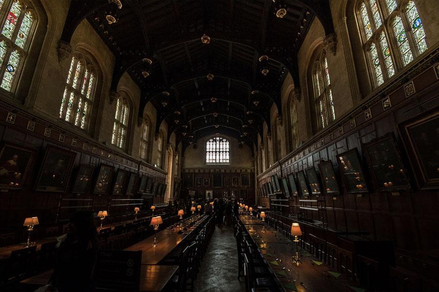 Comedor Hogwarts Oxford