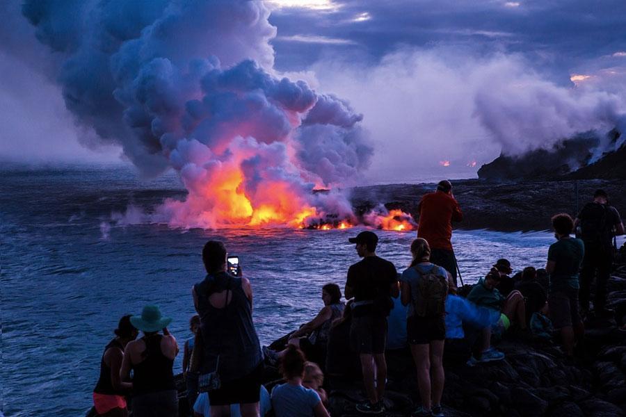 Tour Volcanes Hawaii