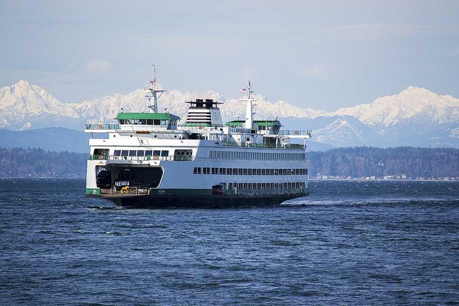 Paseo en Ferry Seattle