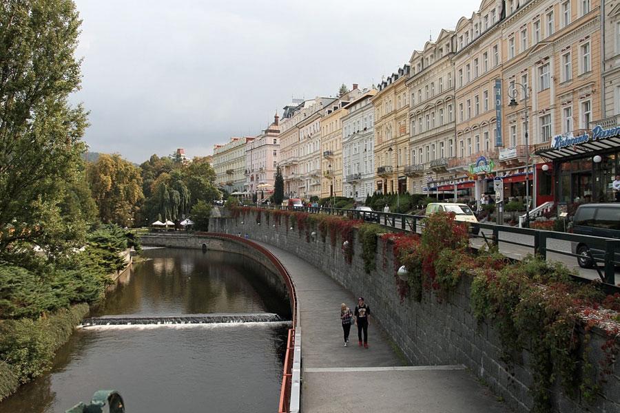 Calles Karlovy Vary Chequia