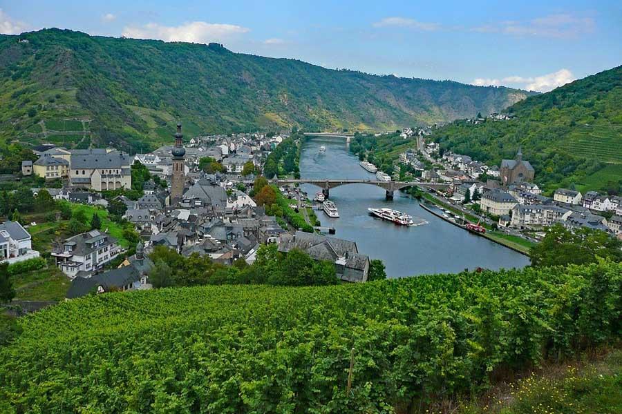 Panoramica Cochem Alemania