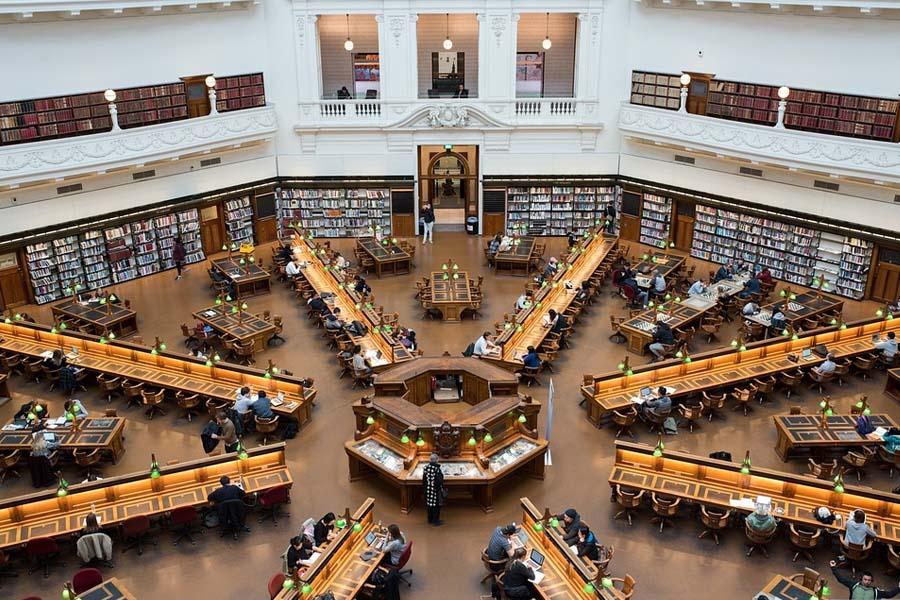 biblioteca melbourne victoria