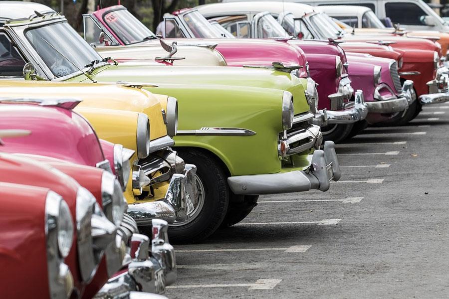 Autos Clasicos La Habana, Cuba
